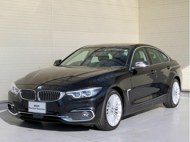 BMW 420iグランクーペ ラグジュアリー LEDヘッドライト 18AW オートトランク コンフォートアクセス レザーシート ブラックレザー マルチメーター 純正ナビ リアビューカメラ 純正ETC ハーマンカードン Aクルコン 認定中古車