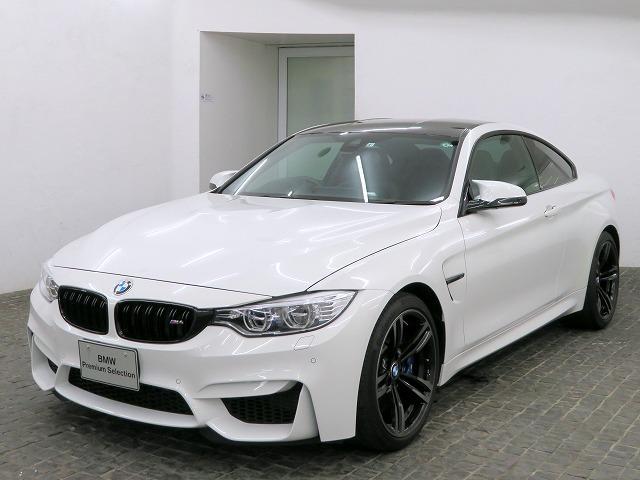 BMW M4クーペ LEDヘッドライト 19AW コンフォートアクセス レザーシート ブラックレザー 純正ナビ iDriveナビ フルセグ リアビューカメラ HUD HiFiスピーカー 純正ETC クルコン 認定中古車