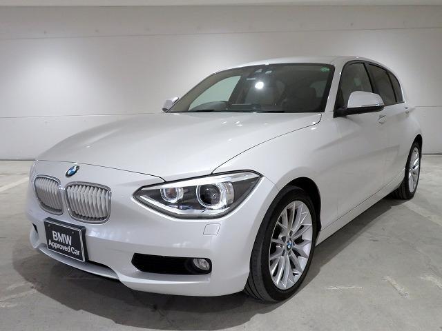 BMW 116i ファッショニスタ キセノン 17AW リアPDC コンフォートアクセス レザーシート 純正ナビ iDriveナビ リアビューカメラ 純正ETC レーン・ディパーチャー・ウォーニング クルーズコントロール 認定中古車