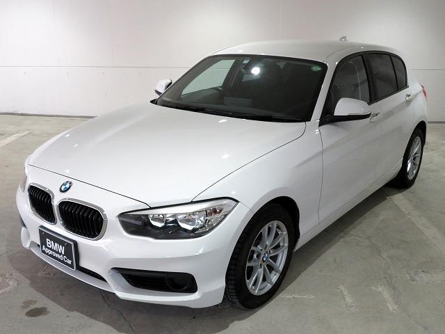 BMW 118i 16AW パーキングサポートPKG リアPDC 純正ナビ iDriveナビ リアビューカメラ 社外ETC 認定中古車
