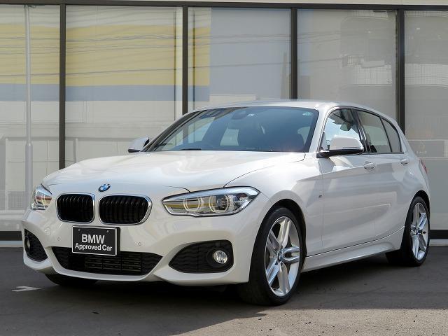 BMW 118i Mスポーツ MS コンフォートPKG LEDヘッドライト 18AW PDC コンフォートアクセス 純正ナビ iDriveナビ リアビューカメラ 純正ETC レーンディパーチャーウォーニング クルコン 認定中古車