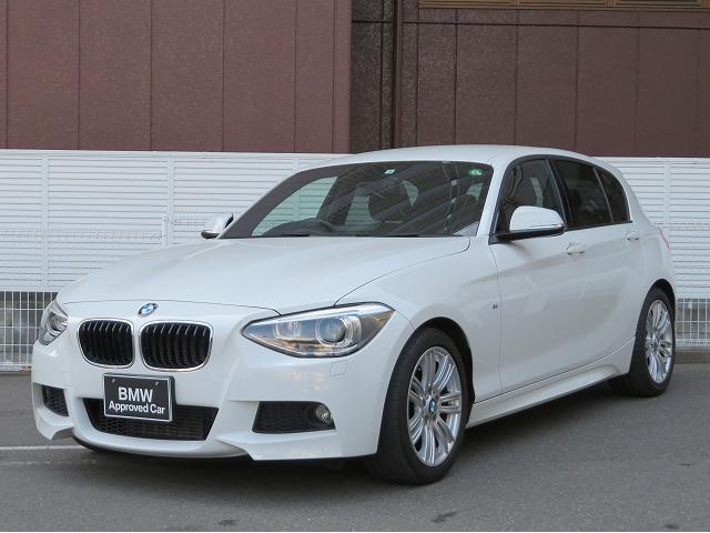 BMW 1シリーズ 116i Mスポーツ MS コンフォートPKG キセノン 17AW コンフォートアクセス 純正ナビ iDriveナビ 地デジ フルセグ リアビューカメラ 社外ETC 認定中古車
