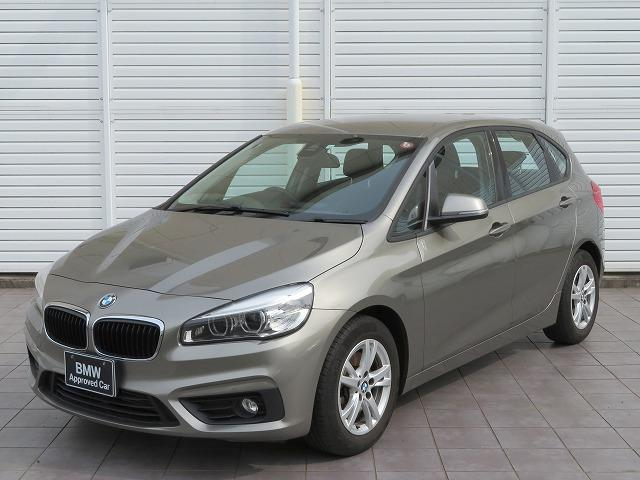 BMW 2シリーズ 218iアクティブツアラー コンフォートPKG LEDヘッドライト 16AW リアPDC オートトランク コンフォートアクセス iDriveナビ リアビューカメラ 純正ETC レーンディパーチャーウォーニング 認定中古車