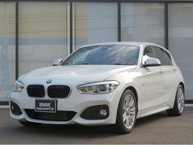 BMW 118d Mスポーツ LEDヘッドライト 17AW パーキングサポートPKG リアPDC 純正ナビ iDriveナビ リアビューカメラ 純正ETC レーン ディパーチャー ウォーニング クルーズコントロール 認定中古車