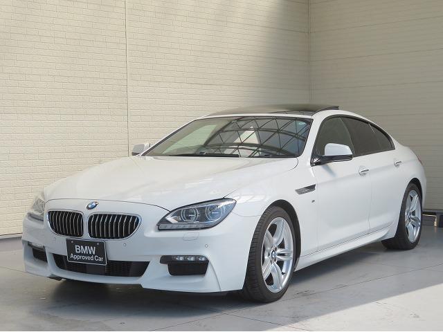 BMW 6シリーズ 640iグランクーペ LEDライト 19AW サンルーフ PDC スマートキー 黒革 純正ナビ ヘッドアップディスプレイ バックカメラ 純正ETC アクティブクルーズコントロール 認定中古車