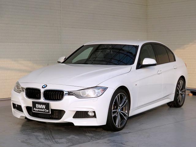 BMW 320d Mスポーツ MS キセノン 19AW リアPDC コンフォートアクセス 純正ナビ iDriveナビ リアビューカメラ 純正ETC アクティブ クルーズ コントロール ストップ ゴー 車線逸脱 認定中古車