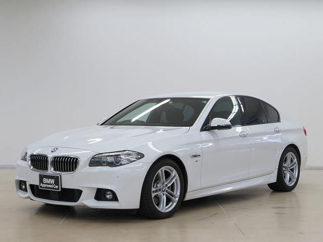 BMW 5シリーズ 523d Mスポーツ MS キセノン 18AW PDC コンフォートアクセス 純正ナビ iDriveナビ 地デジ フルセグ リアビューカメラ 純正ETC アクティブクルーズコントロール ストップ ゴー 車線逸脱 認定中古車