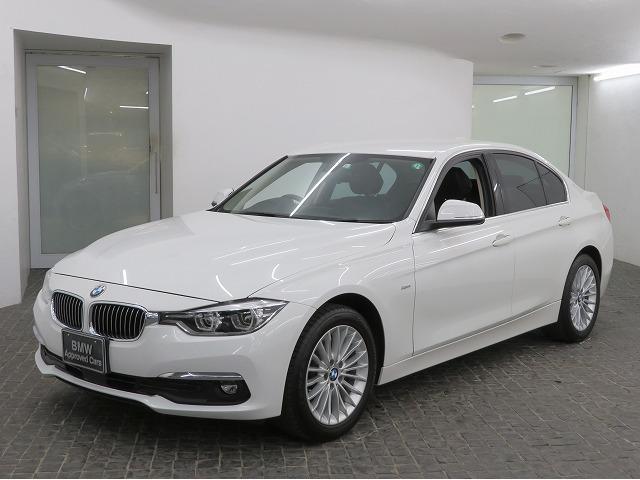 BMW 320iラグジュアリー LEDヘッドライト 17AW リアPDC コンフォートアlクセス レザーシート ブラックレザー 純正ナビ iDriveナビ リアビューカメラ 純正ETC アクティブ クルーズ コントロール 認定中古車