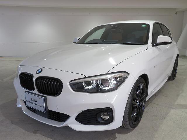 BMW 118d Mスポーツ エディションシャドー LED raito  18AW PDC スマートキー 茶革 純正ナビ Bカメラ HiFiスピーカー 純正ETC ACC レーンディパーチャーウォーニング 認定中古車