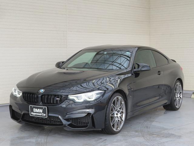 BMW M4クーペ コンペティション LEDヘッドライト 20AW PDC コンフォートアクセス レザーシート ブラックレザー 純正ナビ iDriveナビ リアビューカメラ HUD ハーマンカードン 純正ETC 車線逸脱 認定中古車