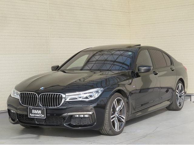 BMW 7シリーズ 740d xDrive Mスポーツ レーザーライト 20AW サンルーフ 茶革 ベンチレーション アラウンドビュー アクティブクルーズコントロール ヘッドアップディスプレイ ハ-マンカードンサラウンドシステム 認定中古車