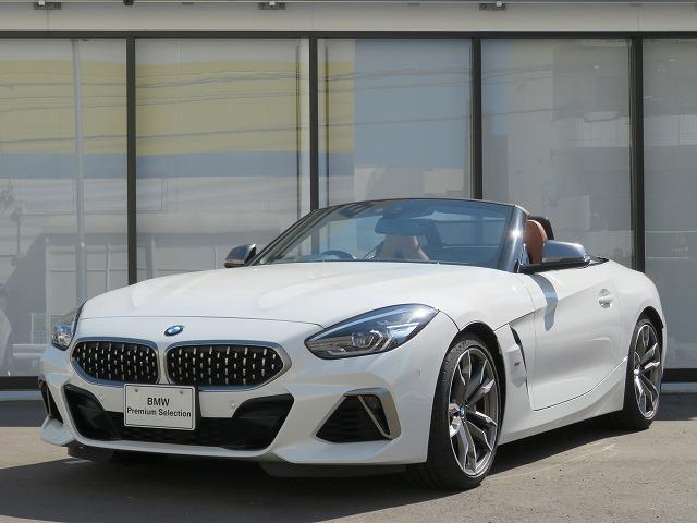 BMW Z4 M40i コニャックレザー ハーマンカードンサラウンドシステム 19インチアルミ ヘッドアップディスプレイ オートクルーズコントロール 認定中古車