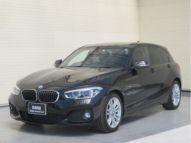 BMW 1シリーズ 118i Mスポーツ コンフォートPKG LEDライト パーキングサポートPKG PDC 純正ナビ フルセグ Bカメラ 純正ETC レーンディパーチャーウォーニング クルコン 認定中古車