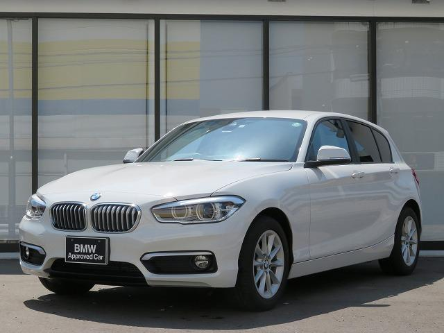 BMW 1シリーズ 118d スタイル コンフォートPKG LEDライト 16AW パーキングサポートPKG Bカメラ クルコン PDC 純正ナビ 純正ETC レーンディパーチャーウォーニング 認定中古車