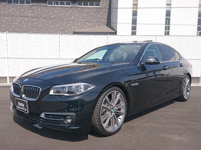 BMW 523iラグジュアリー ST Sportサス LEDライト 20AW サンルーフ 黒革 フルセグ Bカメラ アクティブクルーズコントロール ストップ&ゴー レーンチェンジウォーニング 認定中古車