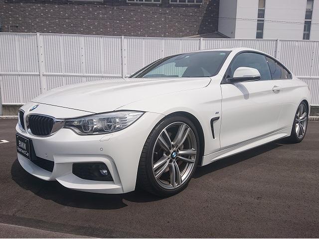 BMW 435iクーペ Mスポーツ H&Rサスペンション 社外 ボルト 水温 ブーストメーター LEDライト 19AW 黒革 フルセグ ヘッドアップディスプレイ 純正ETC クルコン レーンディパーチャーウォーニング 認定中古車
