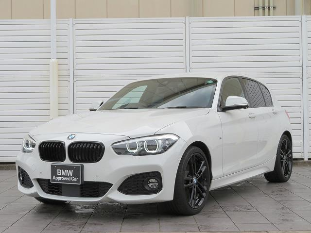 BMW 1シリーズ 118d Mスポーツ エディションシャドー LEDライト 18AW PDC スマートキー 茶革純正ナビ Bカメラ 純正ETC アクティブクルーズコントロール レーンディパーチャーウォーニング 認定中古車