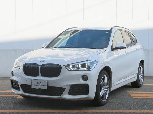 BMW X1 xDrive 18d Mスポーツ コンフォートPKG LEDライト 18AW PDC オートトランク 純正ナビ Bカメラ レーンディパーチャーウォーニング 認定中古車