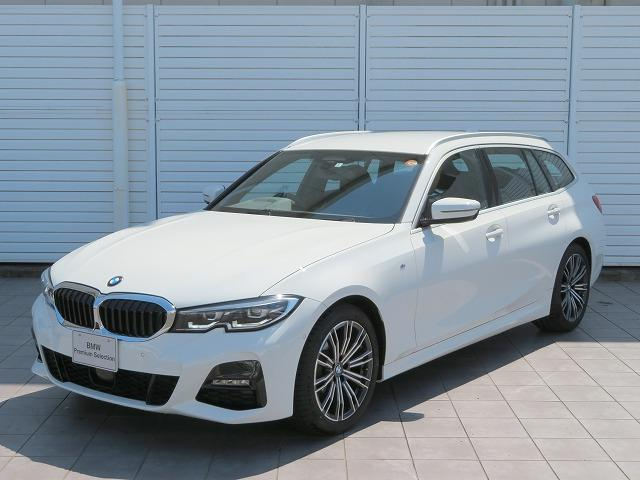 BMW 320d xDriveツーリング Mスポーツ コンフォートPKG LEDヘッドライト 18AW PDC オートトランク コンフォートアクセス シートヒーター 純正ナビ iDriveナビ トップ リアビューカメラ 純正ETC Aクルコン 認定中古車