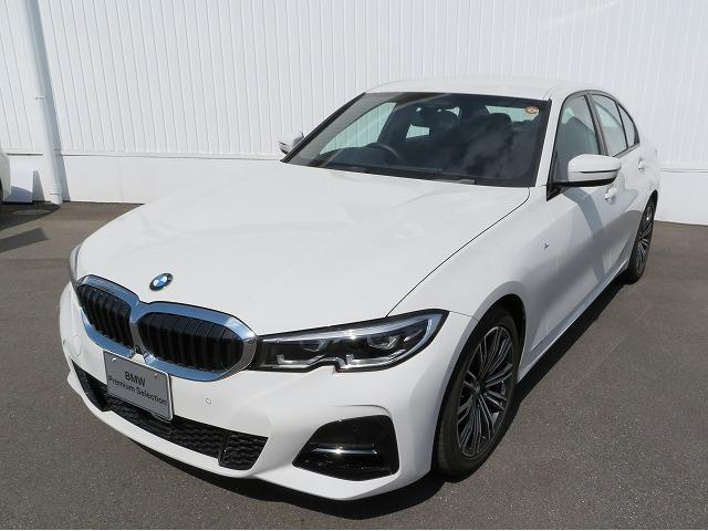 BMW 3シリーズ 320d xDrive Mスポーツ LEDヘッドライト 18AW オートトランク コンフォートアクセス シートヒーター 純正ナビ iDriveナビ トップ リアビューカメラ 純正ETC アクティブ クルーズ コントロール 認定中古車