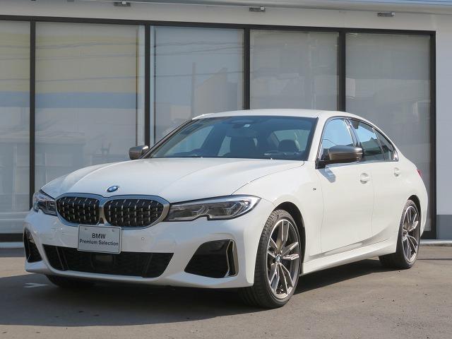 BMW 3シリーズ M340i xDrive パ-キングアシストプラス レーザーライト 19AW 黒革 純正ナビ 純正ETC ヘッドアップディスプレイ ハーマンカードンサラウンドシステム アクティブクルーズコントロール 認定中古車