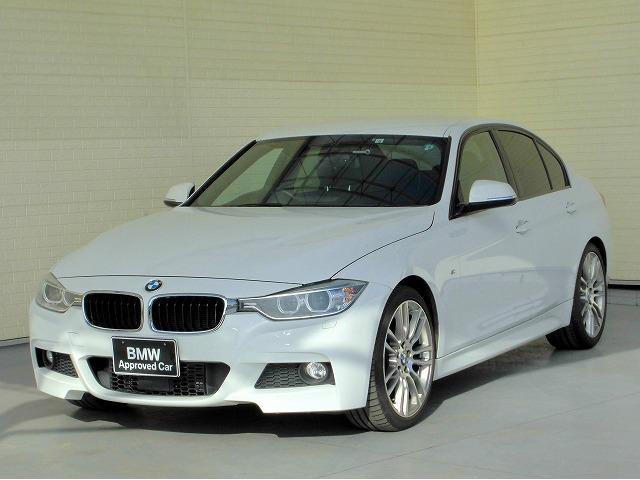 BMW 3シリーズ 320d Mスポーツ キセノン 19AW PDC スマートキー 黒革 純正ナビ Bカメラ ヘッドアップディスプレイ 純正ETC アクティブクルーズコントロール レーンディパーチャーウォーニング 認定中古車
