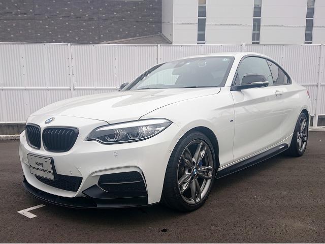 BMW M240iクーペ LEDヘッドライト 18AW パーキングサポートPKG PDC コンフォートアクセス シートヒーター 純正ナビ iDriveナビ 地デジ フルセグ リアビューカメラ 純正ETC 車線逸脱 認定中古車