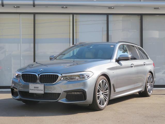BMW 5シリーズ 523dツーリング Mスポーツ 前後シートヒーター オートトランク スマートキー 19AW LEDライト フルセグ ヘッドアップディスプレイ アクティブクルーズコントロール レーンチェンジウォーニング 認定中古車