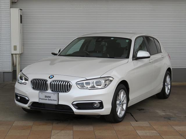 BMW 118d スタイル コンフォートPKG LEDヘッドライト 16AW パーキングサポートPKG リアPDC コンフォートアクセス 純正ナビ iDriveナビ リアビューカメラ アクティブクルーズ コントロール 認定中古車