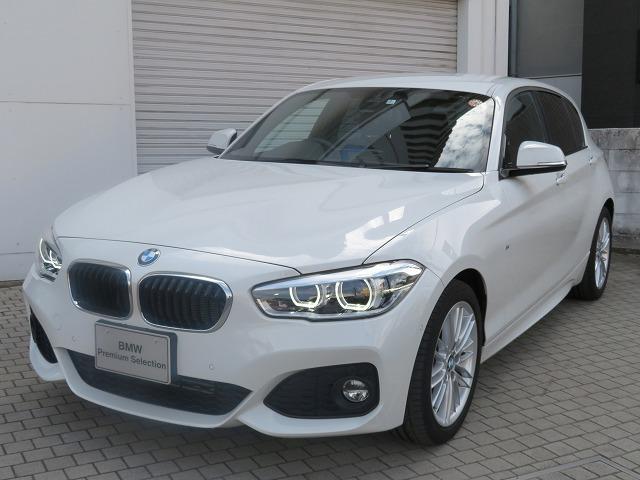 BMW 118d Mスポーツ MS LEDヘッドライト 17AW パーキングサポートPKG PDC 純正ナビ iDriveナビ リアビューカメラ 純正ETC レーンディパーチャー ウォーニング クルーズ コントロール 認定中古車