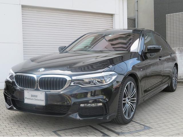 BMW 523d Mスポーツ ハイラインパッケージ MS LEDヘッドライト 19AW サンルーフ ガラスSR オートトランク コンフォートアクセス ブラックレザー マルチディスプレイメーター 純正ナビ トップ リアビューカメラ Aクルコン 認定中古車