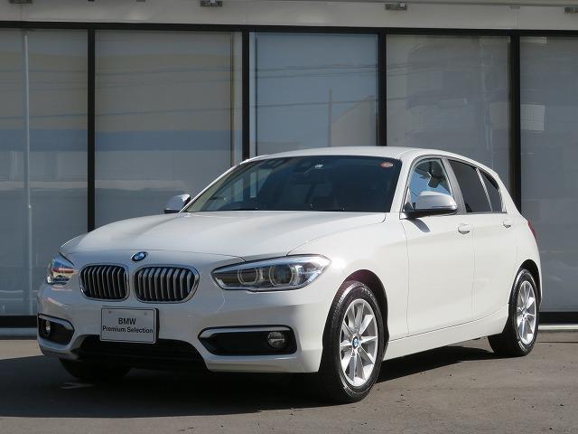 BMW 1シリーズ 118d スタイル LEDヘッドライト 16AW パーキングサポートPKG リアPDC 純正ナビ iDriveナビ リアビューカメラ 純正ETC レーンディパーチャーウォーニング クルーズ コントロール 認定中古車