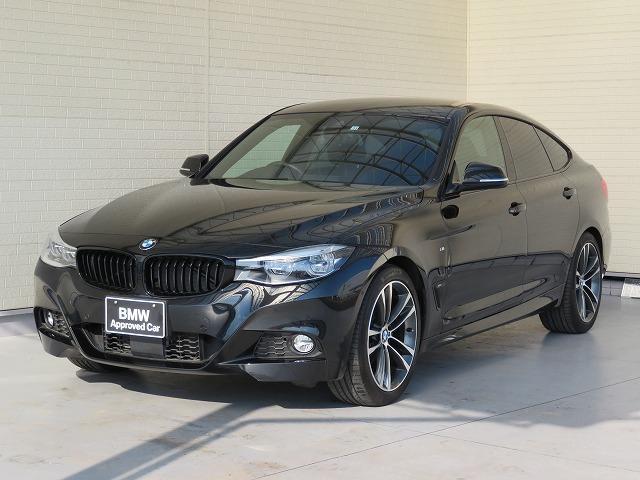 BMW 320iグランツーリスモ Mスポーツ LEDヘッドライト 19AW オートトランク コンフォートアクセス レザーシート ブラックレザー 純正ナビ トップ リアビューカメラ 純正ETC アクティブ クルーズ コントロール 認定中古車