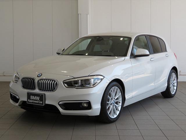 BMW 118i ファッショニスタ LEDヘッドライト 17AW リアPDC コンフォートアクセス レザーシート 純正ナビ iDriveナビ 地デジ フルセグ リアビューカメラ 純正ETC アクティブ クルーズ コントロール 認定中古車