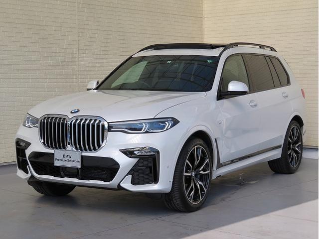 BMW xDrive 35d Mスポーツ レーザーライト サンルーフ ソフトクローズドア オートトランク コンフォートアクセス ブラックレザー 純正ナビ トップ リアビューカメラ HUD 純正ETC Aクルコン レーンチェンジ 認定中古車