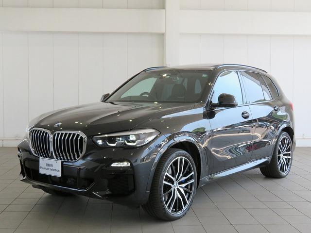 BMW X5 xDrive 35d Mスポーツ ドライビングダイナミクスPKG プラスPKG LEDヘッドライト サンルーフ オートトランク レザーシート 純正ナビ フルセグ トップ Bカメラ 純正ETC アクティブクルーズコントロール 認定中古車