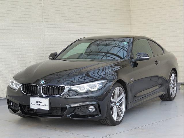 BMW 440iクーペ Mスポーツ LEDヘッドライト 19AW PDC コンフォートアクセス レザーシート ブラックレザー マルチメーター 純正ナビ リアビューカメラ HUD 純正ETC アクティブ クルーズ コントロール 認定中古車