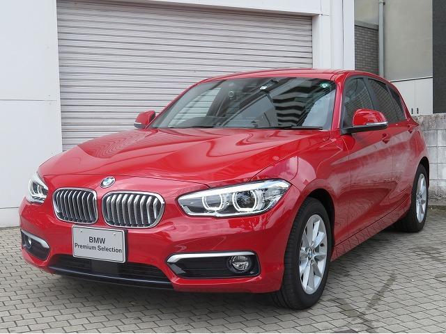 BMW 118d スタイル コンフォートPKG LEDヘッドライト 16AW パーキングサポートPKG コンフォートアクセス シートヒーター 純正ナビ iDriveナビ リアビューカメラ 純正ETC Aクルコン 認定中古車