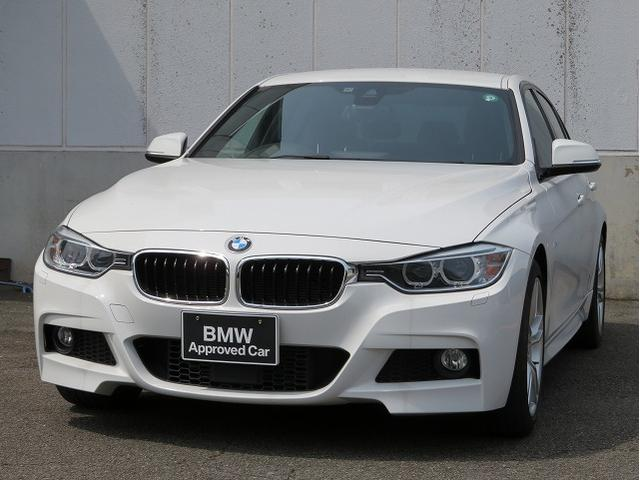 BMW 3シリーズ 320d Mスポーツ MS キセノン 18AW リアPDC コンフォートアクセス 純正ナビ iDriveナビ リアビューカメラ 純正ETC アクティブ クルーズ コントロール ストップ ゴー 車線逸脱 認定中古車