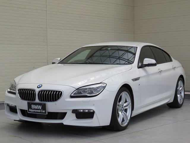 BMW 640iグランクーペ Mスポーツ LEDヘッドライト 19AW コンフォートアクセス レザーシート ブラウンレザー マルチメーター 純正ナビ idriveナビ リアビューカメラ HUD アクティブ クルーズ コントロール 認定中古車