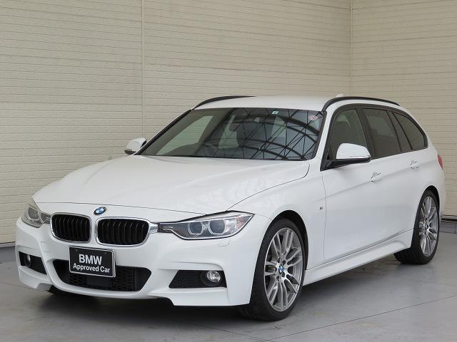 BMW 320dツーリング Mスポーツ キセノン 19AW リアPDC オートトランク レザーシート ブラックレザー 純正ナビ iDriveナビ リアビューカメラ 純正ETC アクティブ クルーズ コントロール 車線逸脱 認定中古車