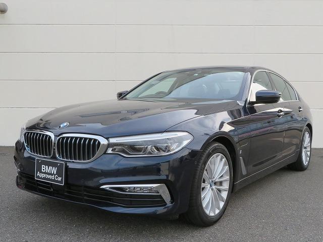 BMW 5シリーズ 530eラグジュアリー アイパフォーマンス LEDライト 18AW オートトランク コンフォートアクセス ブラックレザー マルチメーター 純正ナビ iDriveナビ フルセグ トップ リアビューカメラ 純正ETC レーンチェンジ 認定中古車