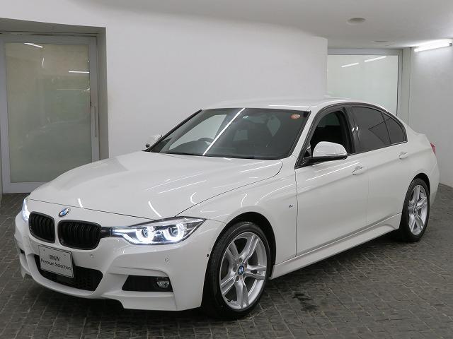 BMW 3シリーズ 320i Mスポーツ LEDヘッドライト 18AW パーキングサポートPKG PDC コンフォートアクセス 純正ナビ iDriveナビ トップリアビューカメラ HUD 純正ETC Aクルコン 車線逸脱 認定中古車