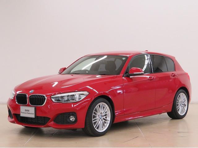 BMW 1シリーズ 118d Mスポーツ コンフォートPKG LEDヘッドライト 17AW パーキングサポートPKG PDC シートヒーター 純正ナビ  Bカメラ レーンディパーチャーウォーニング クルーズコントロール 認定中古車