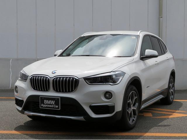 BMW X1 xDrive 18d xライン ハイラインパッケージ コンフォートPKG LEDヘッドライト 18AW オートトランク コンフォートアクセス レザーシート ブラックレザー 純正ナビ iDriveナビ リアビューカメラ 純正ETC 車線逸脱 認定中古車