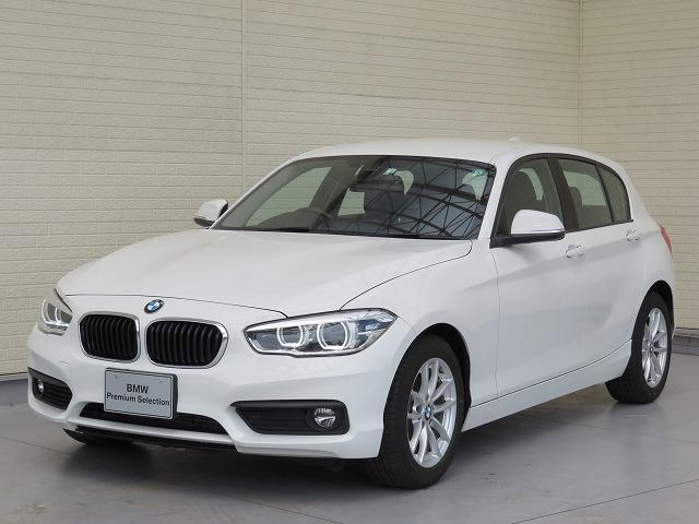 BMW 118i LEDヘッドライト 16AW 純正ナビ iDriveナビ 純正ETC レーン・ディパーチャー・ウォーニング クルーズコントロール 認定中古車