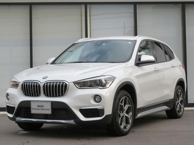BMW X1 xDrive 18d xライン コンフォートPKG LEDヘッドライト 18AW PDC オーオトランク コンフォートアクセス シートヒーター 純正ナビ iDriveナビ フルセグ リアビューカメラ 純正ETC 車線逸脱 認定中古車