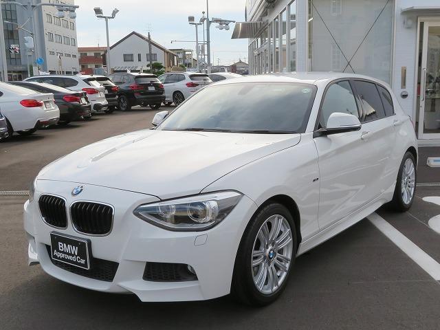 BMW 1シリーズ 116i Mスポーツ MS キセノン 17AW パーキンングサポートPKG リアPDC 純正ナビ iDriveナビ リアビューカメラ 社外ETC 認定中古車