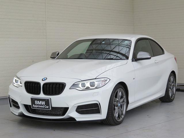 BMW M235iクーペ キセノン 18AW パーキングサポートPKG コンフォートアクセス 純正ナビ iDriveナビ リアビューカメラ 純正ETC レーン ディパーチャー ウォーニング クルーズコントロール 認定中古車