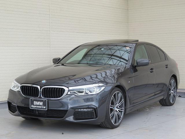 BMW 5シリーズ 540i Mスポーツ コンフォートPKG LEDヘッドライト 20AW サンルーフ ソフトクローズドア コンフォートアクセス マルチメーター 純正ナビ トップ リアビューカメラ HUD 純正ETC Aクルコン 認定中古車